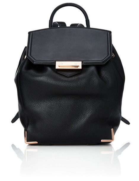 Alexander Wang backpack leather black black leather