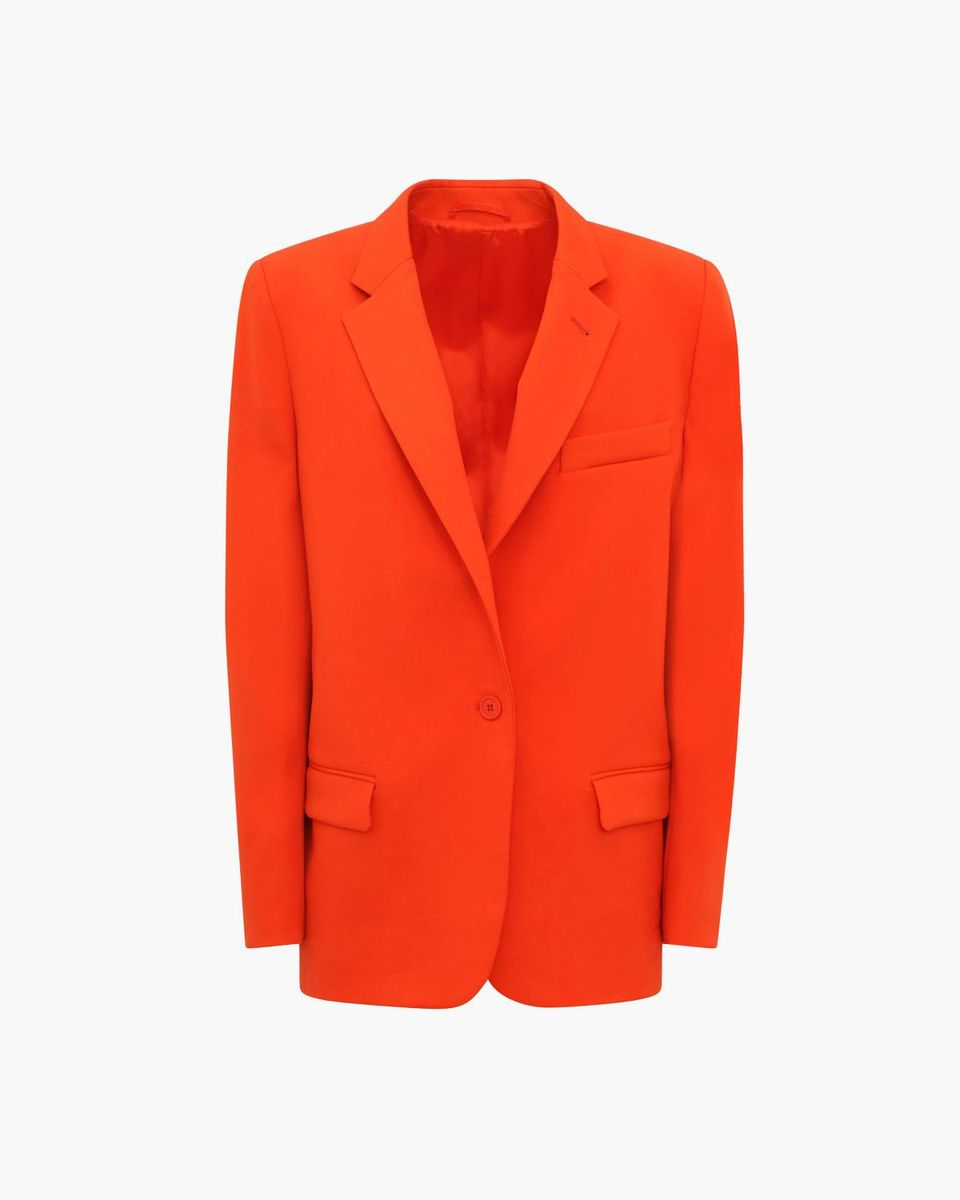 The Attico - Blazer Tangerine