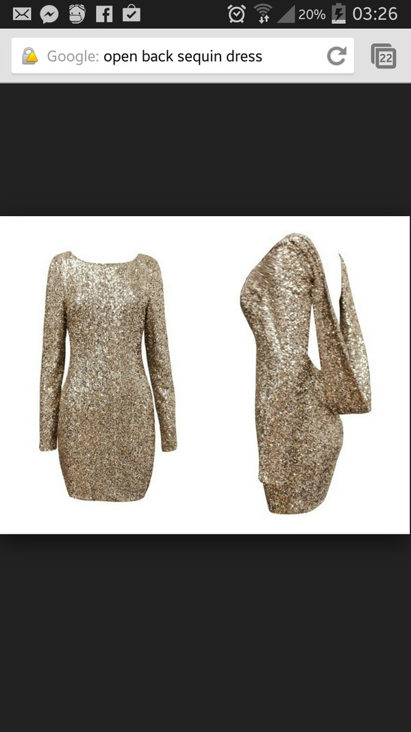 gold dress open back dresses sequin dress sequins glitz dress