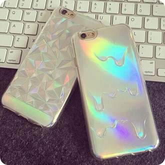 phone cover holographic iphone 6 case holographic iphone case white iphone case 3d