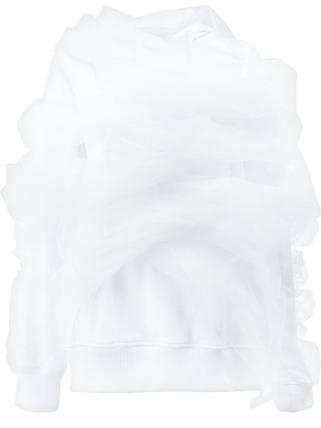 Y / Project sweater women white cotton