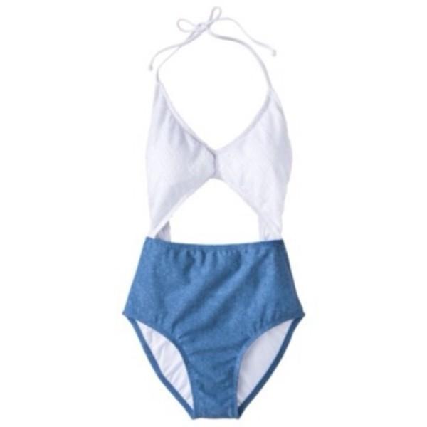 swimwear blue swimwear white swimwear target monokini