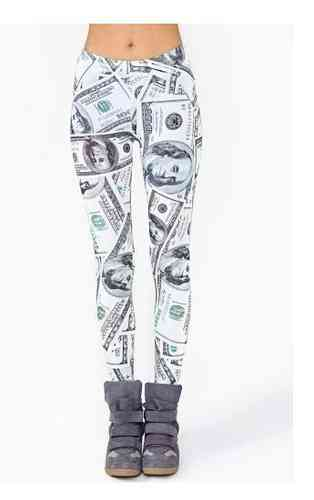 DOLLAR LEGGINGS - QUEENS GET THE MONEY