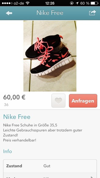 shoes orange pink white black nike running shoes nike free runs nike