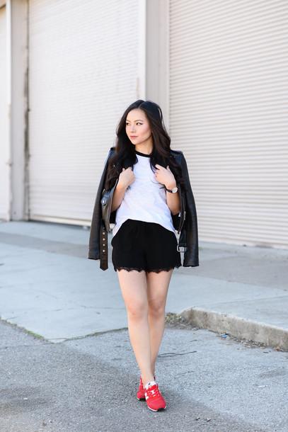 the fancy pants report blogger shirt shorts jewels jacket shoes