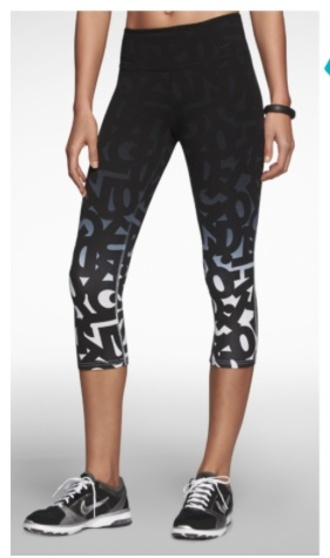 pants running tights exercise clothes tights letters gradient exercise clothes women collant strass