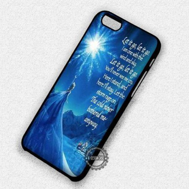 Disney Frozen Quote iPhone 6 Case
