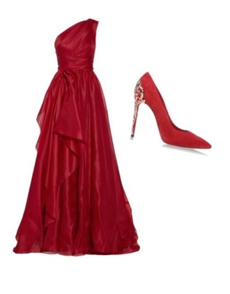 dress hot gown long shoes shoe high heels trendy marchesa style lovely pepa outfitters bag formal dress
