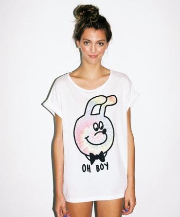 Lazy Oaf | Oh Boy Slob T-shirt