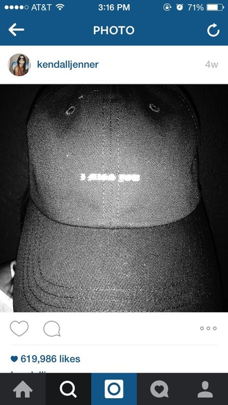 hat kendall and kylie jenner kendall jenner baseball cap