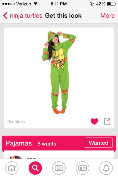 cute girl pajamas tmnt onsies