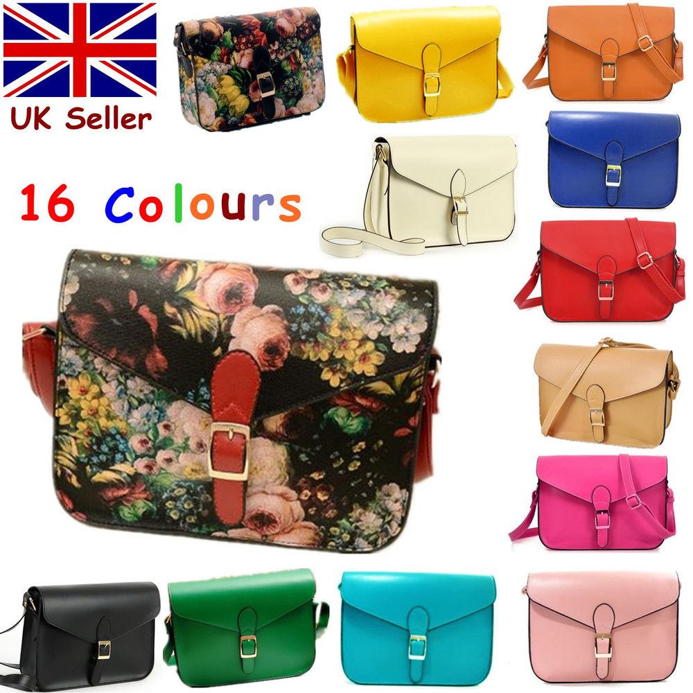 Womens Designer Crossbody Satchel Messenger Shoulder School Bag Handbag Fit iPad | eBay