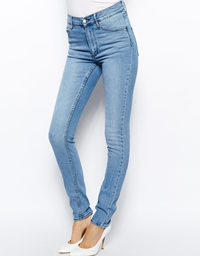 8548c32a7e9a Cheap Monday | Cheap Monday Second Skin High Waist Skinny Jeans at ASOS