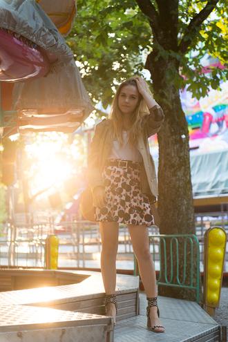 fashion gamble shoes jacket bag skirt