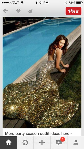 Sequin Pageant Dress