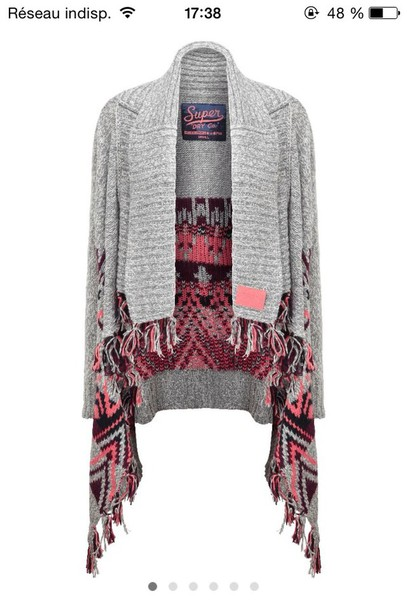 cardigan superdry american classic top