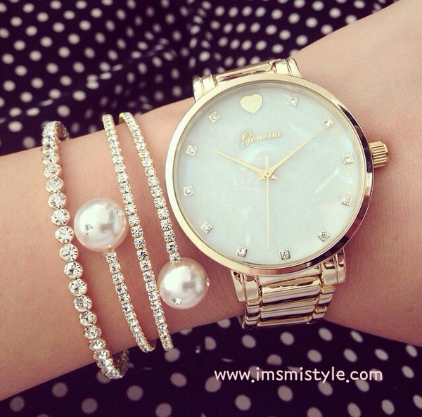 jewels bracelets diamonds watch