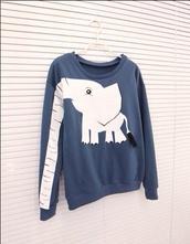 sweater,elephant,animals,safari,poster,handbag,a gogo fashion,sweatshirt,jack wills.com,hollister,topshop,primark