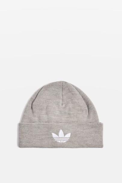 Topshop hat beanie grey