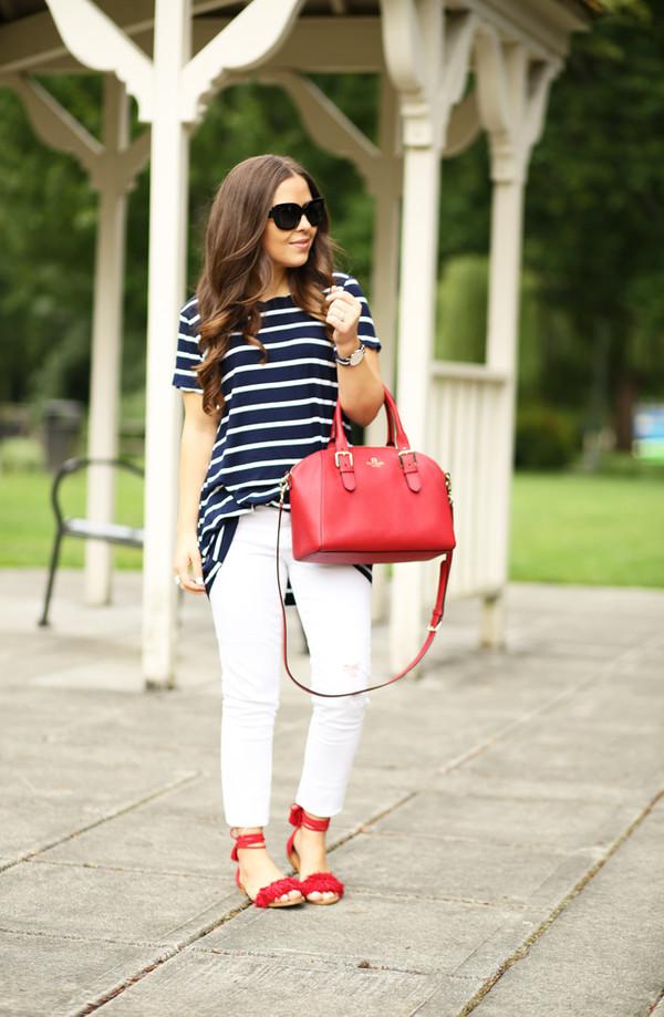 dress corilynn blogger top jeans shoes jewels bag sunglasses