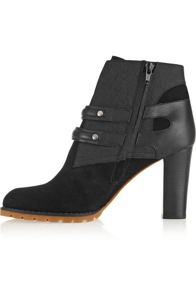 See by Chloé | Nubuck ankle boots | NET-A-PORTER.COM