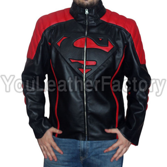 superman jacket superhero