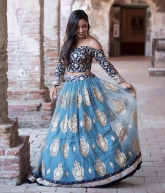 dress two-piece two piece prom dresses indian dress