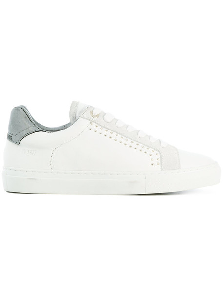 Zadig & Voltaire women sneakers leather white shoes