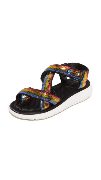 rainbow sandals shoes