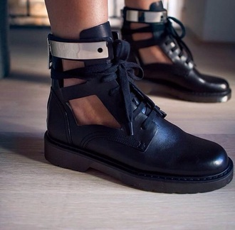 shoes black black boots black shoes leather fashion leather shoes black leather
