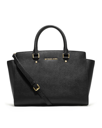 MICHAEL Michael Kors  Large Selma Top-Zip Satchel - Michael Kors