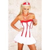 dress,nursing dresses,nurse uniform,white,white dress,one piece,cute halloween costumes,cosplay,red strapless dress,costume,nurse costumes,red and white,elegant dress,funny dress,gorgeous dress,red and white bikini,prom dress,sleeveless dress,backless white dress