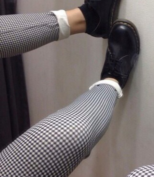 pants grid black and white grunge shoes grunge pants style grunge wishlist