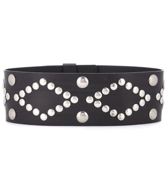 Isabel Marant belt leather black