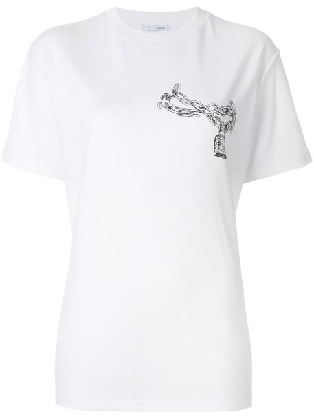 Alyx t-shirt shirt t-shirt women white cotton print top