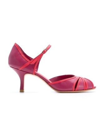 open women pumps purple pink shoes
