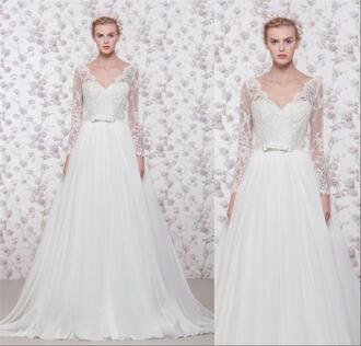 dress long sleeve wedding dress vintage lace wedding dresses a line wedding dresses georges hobeika georges hobeika wedding dresse 2016 wedding bridal gowns muslim wedding dresses arabic wedding dresses boho wedding dresses beach wedding dress greek style wedding dressses vestido de novia