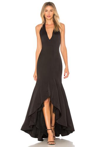 dress champagne black