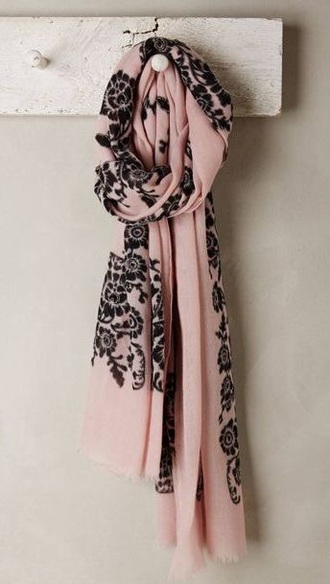 scarf pink dress pastel dress engagement ring romantic fashion floral dress little black dress bag style shoes shirt clothes gossip girl pretty outfit winter sweater 2015 winter scarf