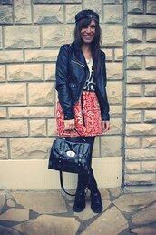 yummy yo,aztec,red skirt,skirt