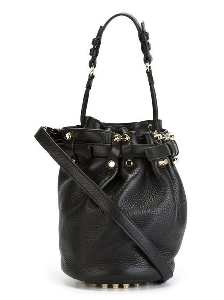 Alexander Wang women bag crossbody bag leather black