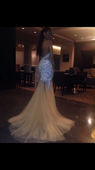 dress gold mermaid prom dress sparkly dress sparkle gorgeous dress