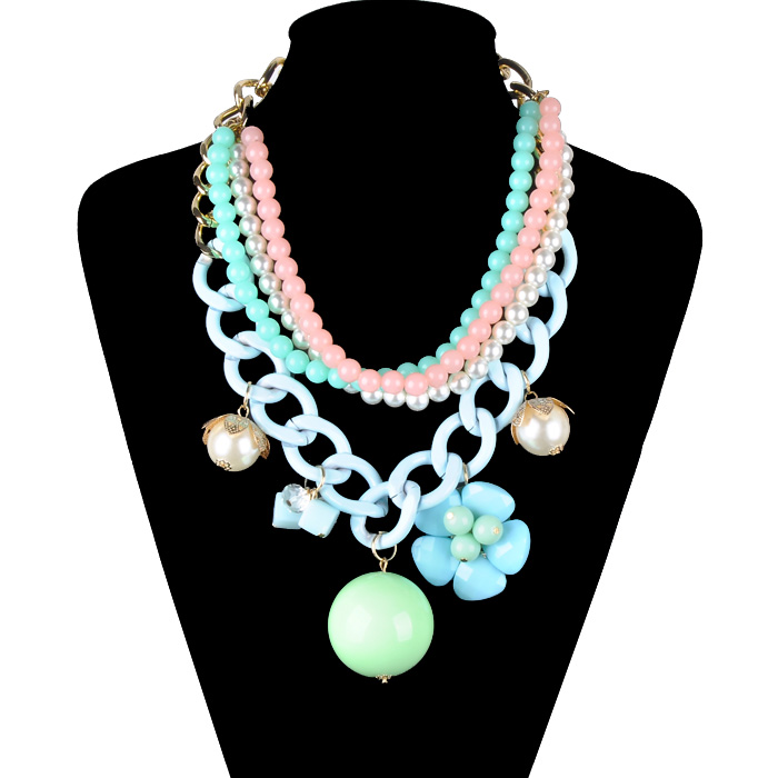 Aliexpress.com : Buy 2014 new design high quality jewelry fashion women color statement collar necklace Necklaces & Pendants  N0976 from Reliable pendant findings suppliers on JIA NI JEWELRY CO,.LTD