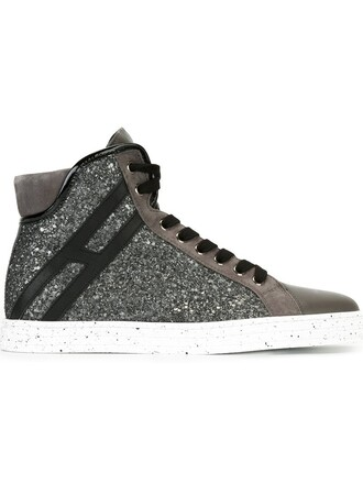 embellished sneakers grey shoes