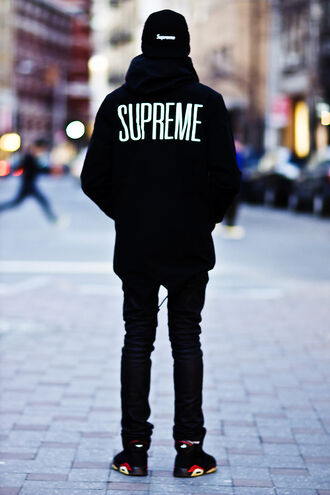 shoes supreme air jordan jacket