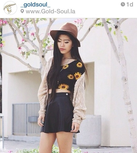 clothing sweater cardigan khaki cardigan cardigan sweater cute cardigan cute khaki cardigan gold soul flower flower too flower top sunflower top crop tops shirt