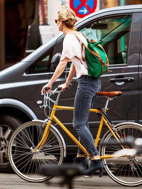 bag bike backpack