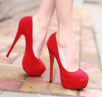 shoes red heels heels party