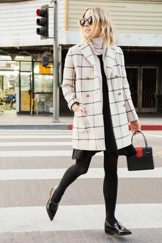 damsel in dior blogger jacket dress coat shoes bag