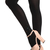 ROMWE | Dimensional Bow Diamante Black Tights, The Latest Street Fashion
